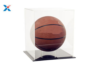 Recyclable Clear Acrylic Display Case For Basketball Baseball Football Soccer